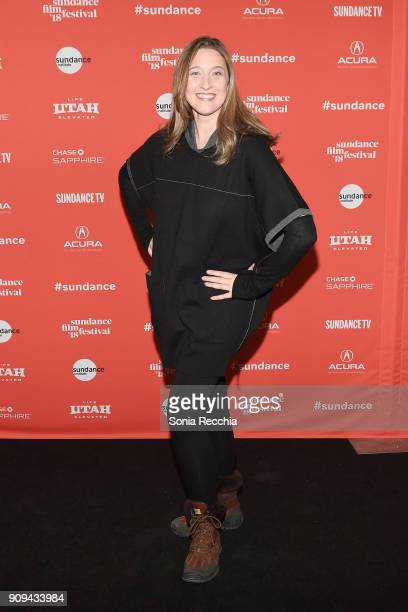 Photographer Ashly Covington attends the 'Half The Picture' Premiere during the 2018 Sundance Film Festival at Prospector Square Theatre on January...