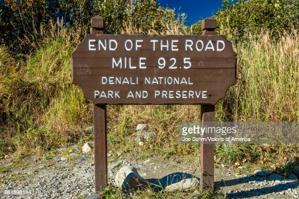 Photographer at End of the Road Mile 925 Denali National Park Kantishna Alaska