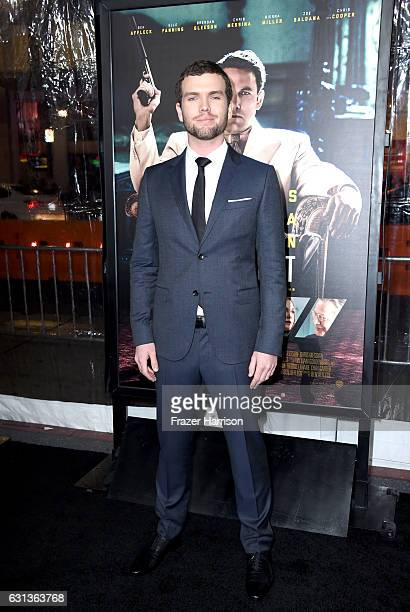 Photographer Austin Swift attends the premiere of Warner Bros Pictures' Live By Night at TCL Chinese Theatre on January 9 2017 in Hollywood California