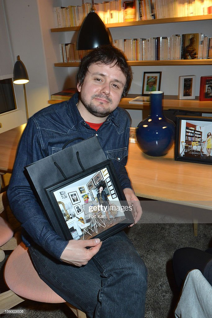 Photographer Baudoin launches his book '75 Parisiennes' during the '9 Hotel' Opening Party on January 10, 2013 in Paris, France.