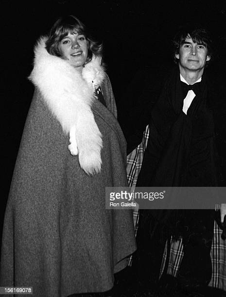 Photographer Berry Berenson and actor Anthony Perkins attend the opening of Gold Show Art Exhibit on December 12 1973 at the Metropolitan Museum of...