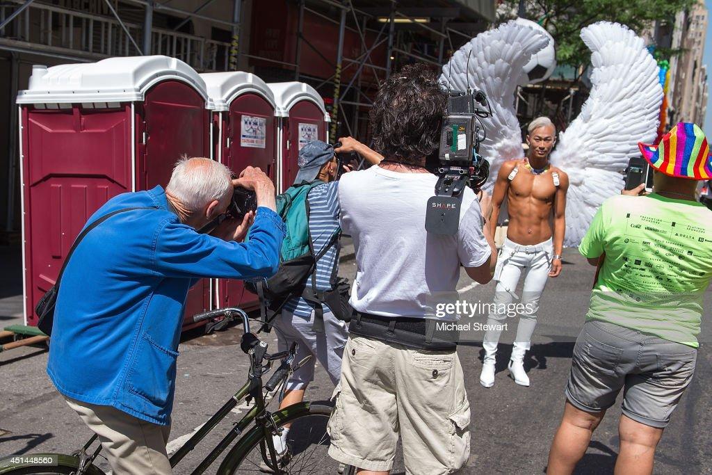 New York City Pride 2014 : News Photo