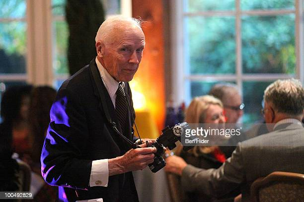 Photographer Bill Cunningham attends the Urban Stages' 26th Annual Benefit Celebrating The Harlem Renaissance Then and Now at Loeb Central Park...