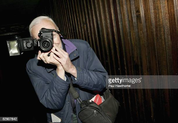 Photographer Bill Cunningham takes a photo of guests attending the 2nd Annual Spring Fling to benefit Teachers Count at The Maritime Hotel Hiro...