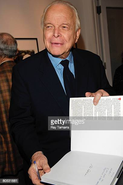 Photographer Bob Adelman visits his photography exhibit at the Westwood Gallery April 4 2008 in New York City