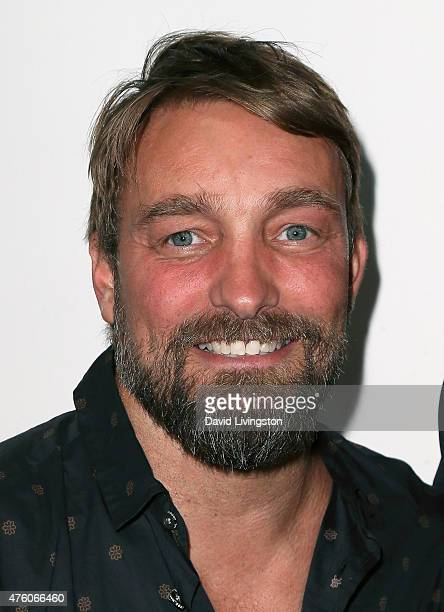 Photographer Brian Bowen Smith attends the Art for Animals fundraiser art event hosted by Alison Eastwood at De Re Gallery on June 5 2015 in West...