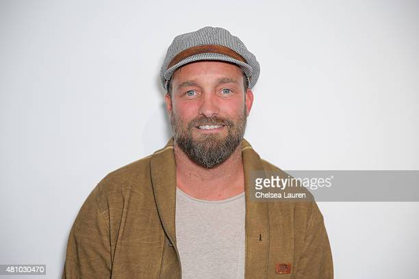 Photographer Brian Bowen Smith attends the 'Desert Voices' opening exhibition at De Re Gallery on July 16 2015 in West Hollywood California