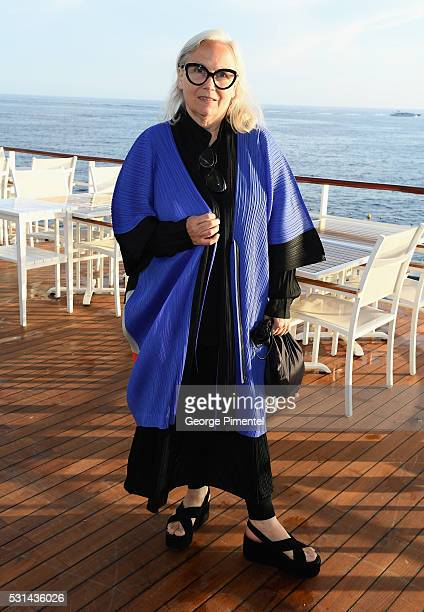 Photographer Brigitte Lacombe attends Vanity Fair and HBO Dinner Celebrating the Cannes Film Festival at Hotel du CapEdenRoc on May 14 2016 in Cap...