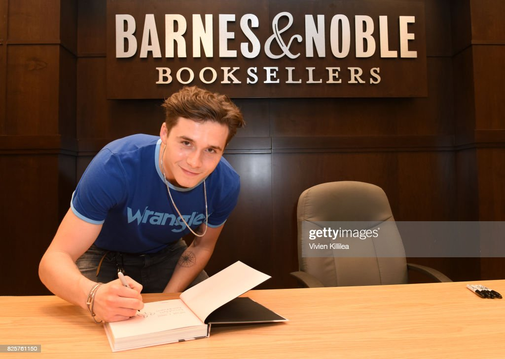 Brooklyn Beckham Spotted In Wrangler At His Book Signing - The Grove LA Barnes & Noble