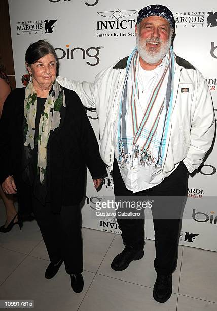 Photographer Bruce Weber and guest attends Ocean Drive Magazine Eighteenth Anniversary event at JW Marriott on March 9 2011 in Miami Florida