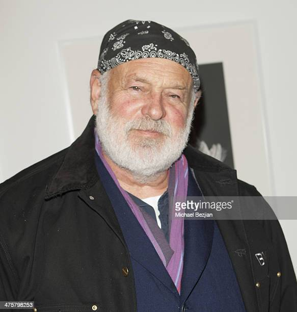 OHWOW Photographer Bruce Weber attends Opening Reception For Robert Mapplethorpe at OHWOW Gallery on February 28 2014 in Los Angeles California