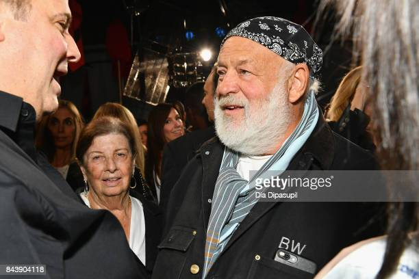 Photographer Bruce Weber attends the Calvin Klein Collection fashion show during New York Fashion Week on September 7 2017 in New York City