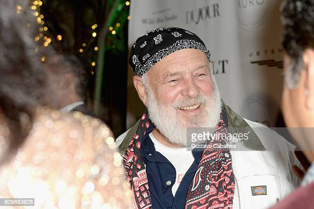 Photographer Bruce Weber attends the DuJour Media Gilt JetSmarter party to kick off Art Basel at The Confidante on November 30 2016 in Miami Beach...