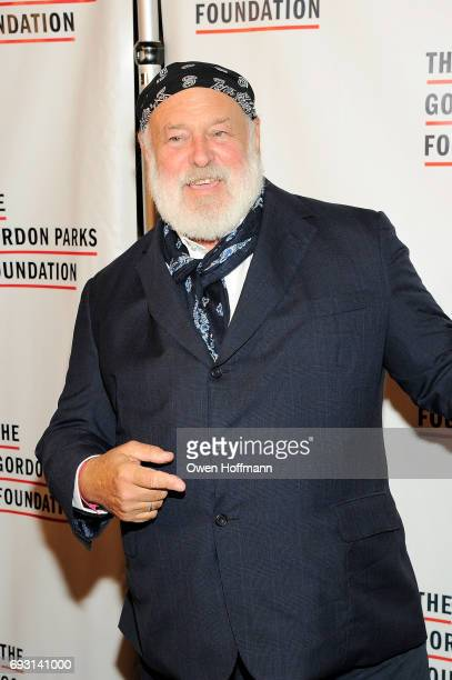 Photographer Bruce Weber attends the Gordon Parks Foundation Awards Dinner Auction at Cipriani 42nd Street on June 6 2017 in New York City
