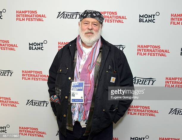 Photographer Bruce Weber attends Variety's 10 Actors To Watch Brunch with Hilary Swank during the 2014 Hamptons International Film Festival on...