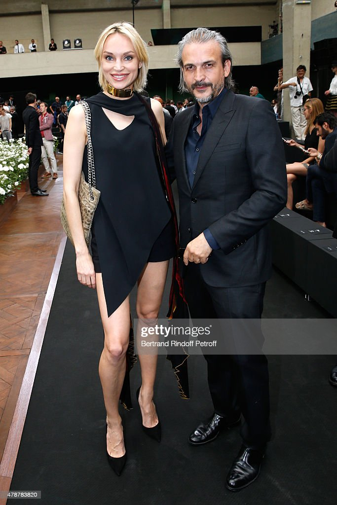 Dior Homme : Front Row - Paris Fashion Week - Menswear Spring/Summer 2016