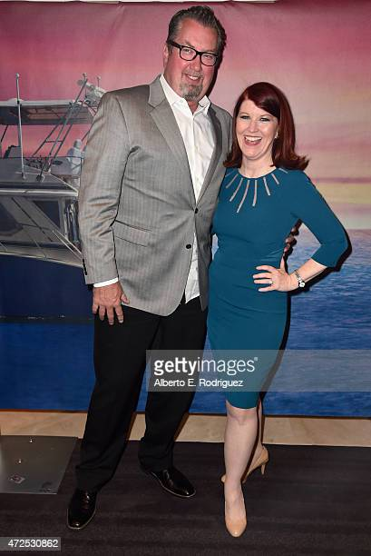 Photographer Chris Haston and actress Kate Flannery attends the Los Angeles special screening of Bleecker Street's I'll See You In My Dreams at The...