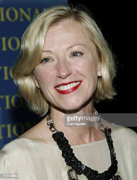 Photographer Cindy Sherman attends The Fashion Group International's 23rd Annual Night of Stars at Cipriani's 42nd Street October 26 2006 in New York...