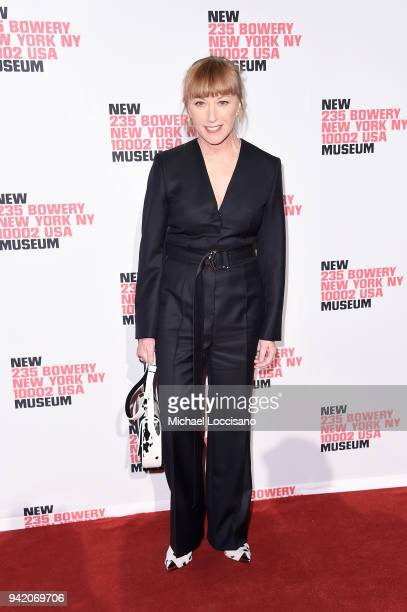 Photographer Cindy Sherman attends the New Museum 2018 Spring Gala at Cipriani Wall Street on April 4 2018 in New York City