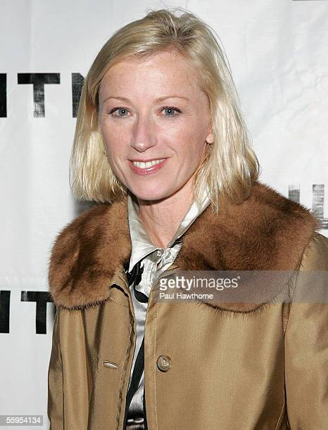 Photographer Cindy Sherman attends the Whitney Museum of American Art Gala 2005 Celebrating 75 Years of American Art at the Whitney October 18 2005...