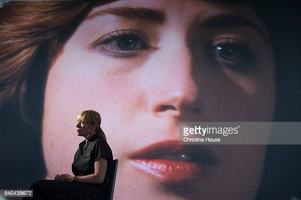 Photographer Cindy Sherman is photographed at The Broad for Los Angeles Times on June 7 2016 in Los Angeles California