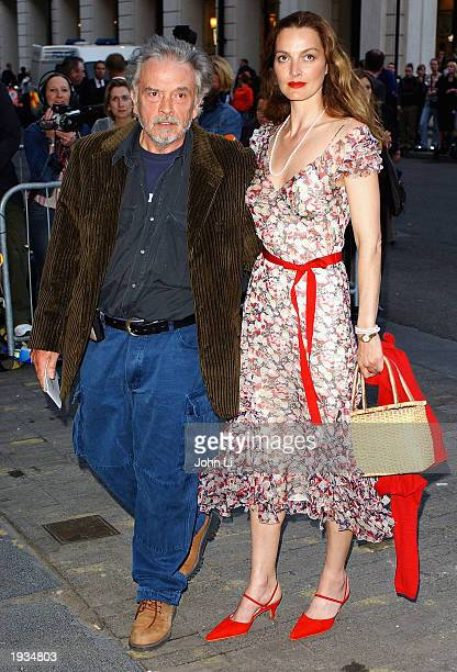 Photographer David Bailey and his wife Catherine arrive at the Saatchi Gallery celebrity launch party held at Charles Saatchi's new gallery in the...