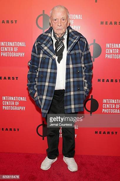 Photographer David Bailey attends the International Center Of Photography's 2016 Infinity awards honoring outstanding achievements in photography and...