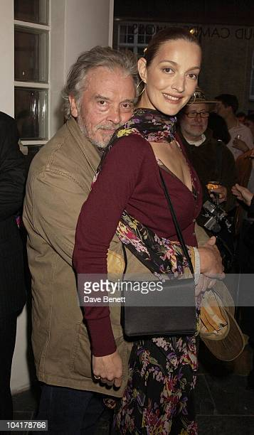 Photographer David Bailey With Wife Catherine Rankin Bailey Go Down Under At Proud Gallery In Camden London The Two Photographers Joined Forces To...