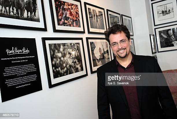 Photographer David Bergman attends the David Bergman Exhibition Opening Curated By Jon Bon Jovi at The Soho Holiday Collective on December 16, 2014...