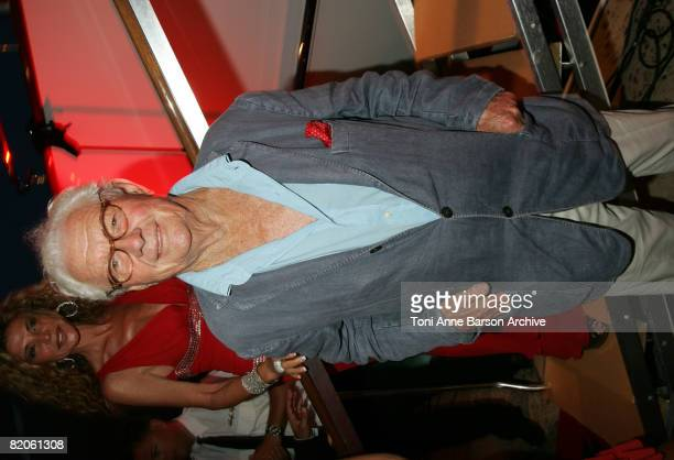 Photographer David Hamilton attends the Soiree Tropezienne hosted by Denise Rich and ASMALLWORLD onboard Ms Rich's yacht the 'Lady Joy' on July 24...