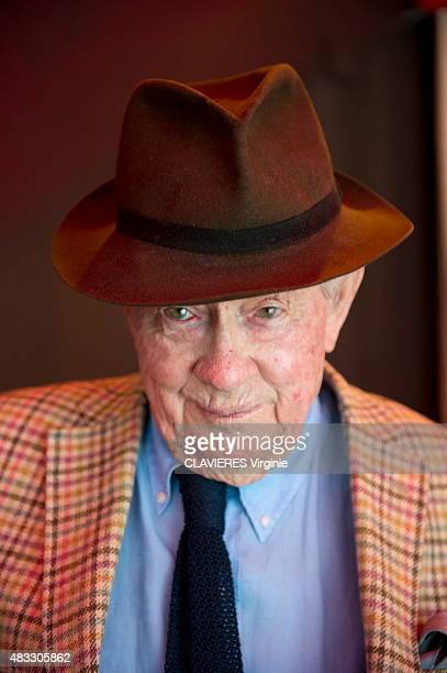 Photographer David Hamilton poses at his home in Paris on April 1 2015