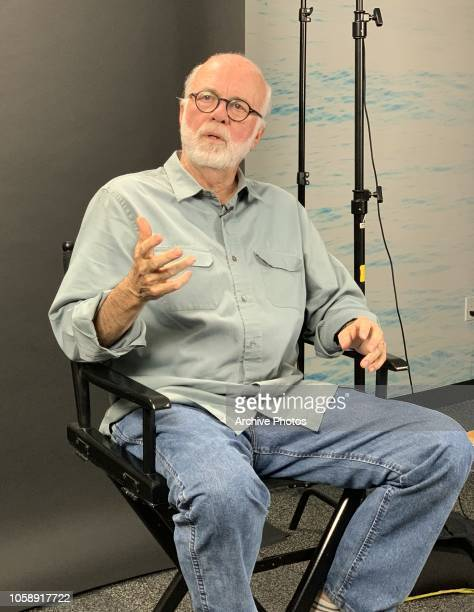 Photographer David Hume Kennerly is interviewed at Getty Images Los Angeles Office on October 24 2018