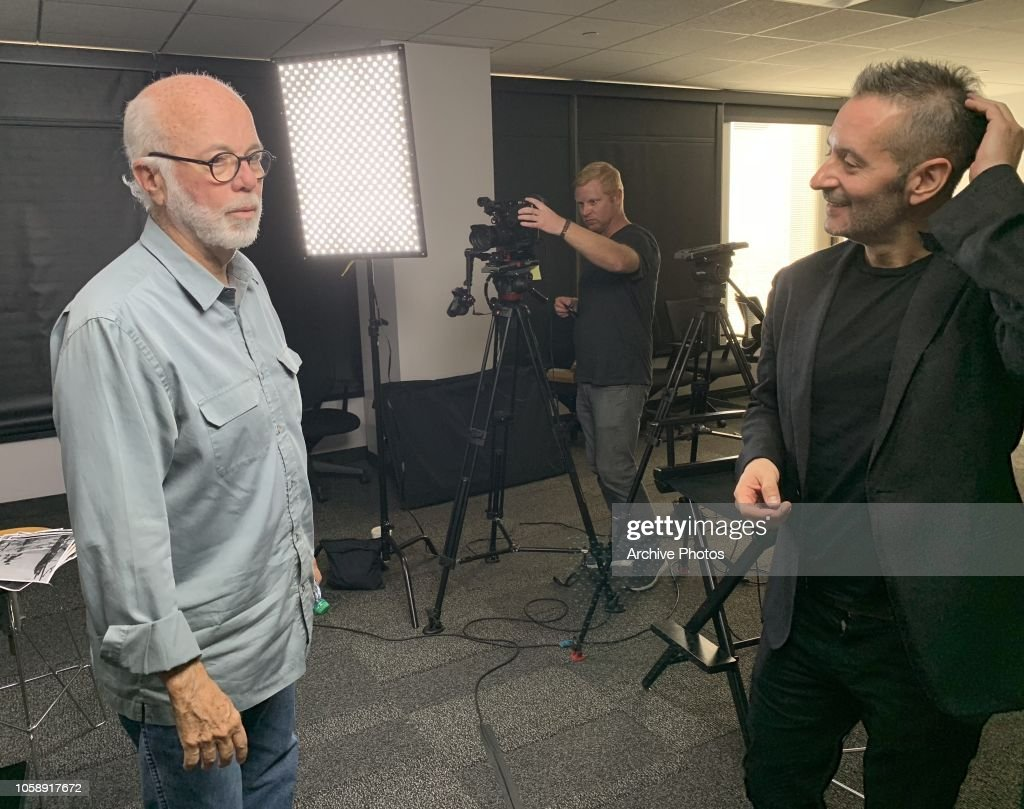David Hume Kennerly Interview at Getty Images LA Office : News Photo