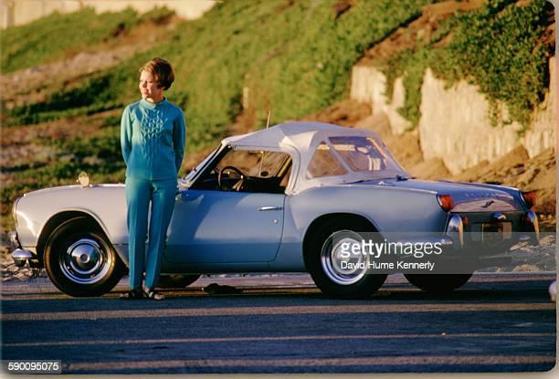 Photographer David Hume Kennerly's first wife, Susan Allwardt, poses circa 1967 in Manhattan Beach, California.