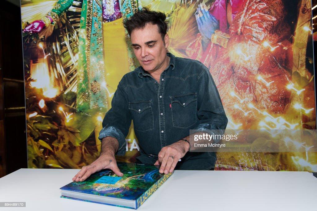 David LaChapelle Book Signing At TASCHEN : Foto di attualità