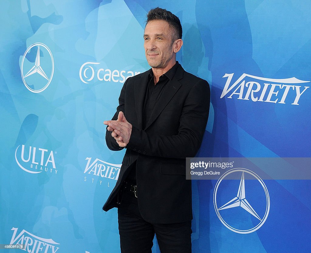 Photographer Davis Factor arrives at the WWD And Variety Inaugural Stylemakers' Event at Smashbox Studios on November 19, 2015 in Culver City, California.