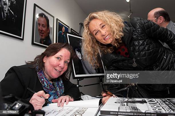 Photographer Debra L Rothenberg and Ann DexterJones attend the Bruce Springsteen In Focus 19802012 event at Rock Paper Photo PopUp Gallery Gallery...