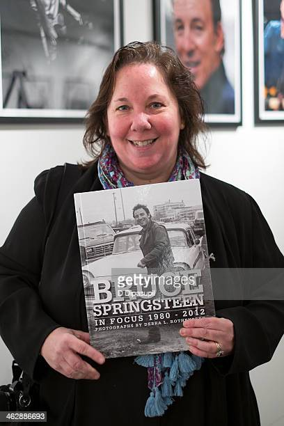 Photographer Debra L Rothenberg attends the Bruce Springsteen In Focus 19802012 event at Rock Paper Photo PopUp Gallery Gallery 151 on January 15...