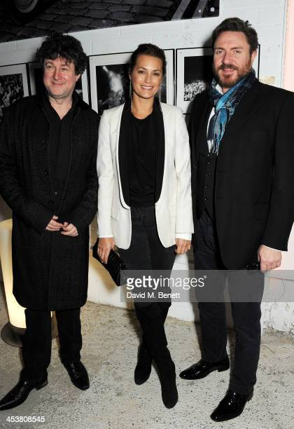 Photographer Denis O'Regan Yasmin Le Bon and Simon Le Bon attend the launch of new book 'Duran Duran Denis O'Regan Careless Memories' at 15 Fouberts...