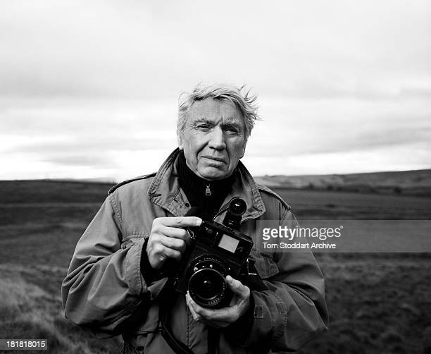 S WALL NORTHUMBERLAND UNITED KINGDOM NOVEMBER 2009 Photographer Don McCullin photographed at dawn near Hadrian's Wall in Northumberland McCullin is...