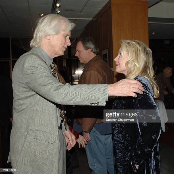 Photographer Douglas Kirkland and actor Kym Kareth attend the Grand Opening of the Academy of Motion Picture Arts and Sciences Winter 2008...