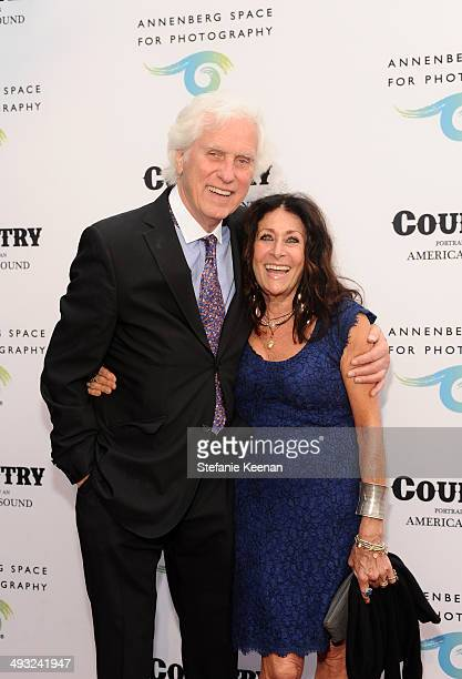 Photographer Douglas Kirkland and Francoise Kirkland attend the Annenberg Space for Photography Opening Celebration for Country Portraits of an...