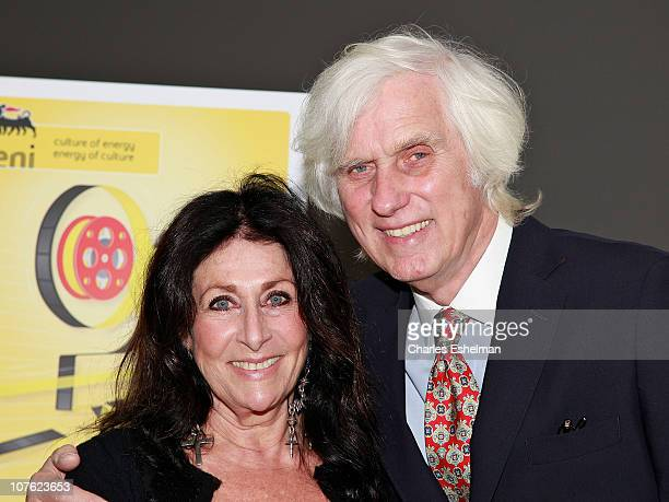 Photographer Douglas Kirkland and wife Francoise Kirkland attend the opening reception for the Bernardo Bertolucci film retrospective at The Museum...