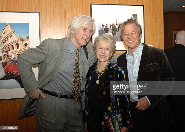 Photographer Douglas Kirkland Mr York's wife Patricia and actor Michael York attend the Grand Opening of the Academy of Motion Picture Arts and...