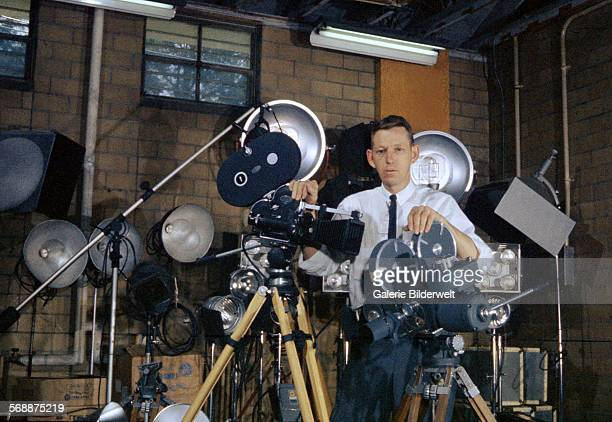 Photographer Ed Westcott the first AEC government photographer in Oak Ridge 1944 The town of Oak Ridge was established by the Army Corps of Engineers...