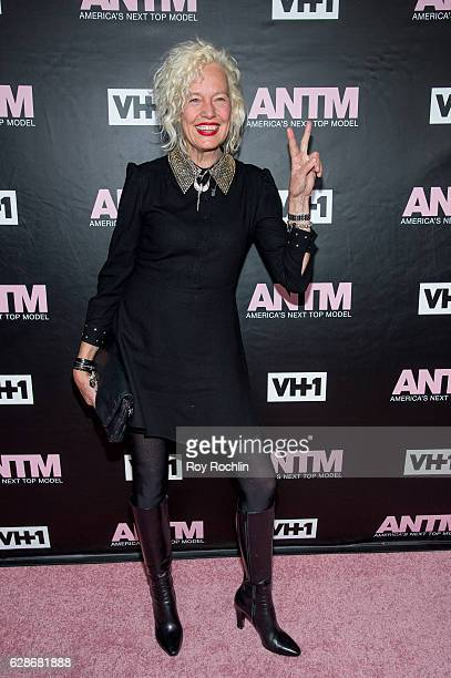 Photographer Ellen von Unwert attends VH1's 'America's Next Top Model' Premiere at Vandal on December 8 2016 in New York City