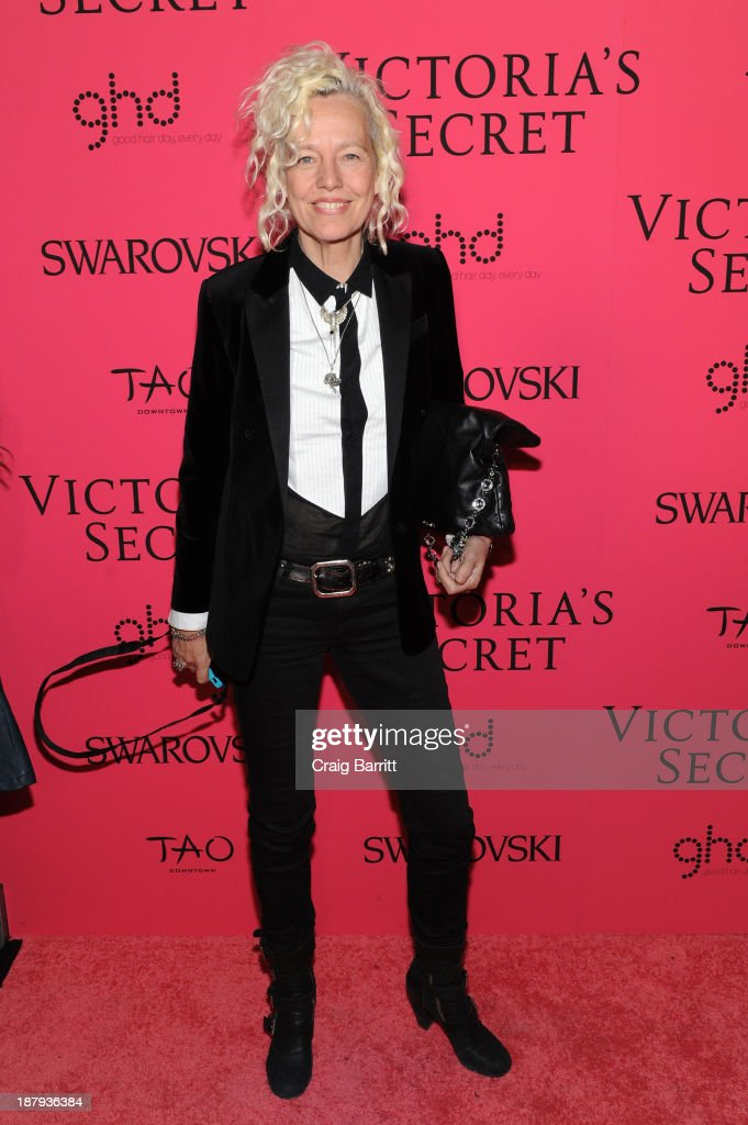 Photographer Ellen von Unwerth attends the 2013 Victoria's Secret Fashion after party at TAO Downtown on November 13, 2013 in New York City.