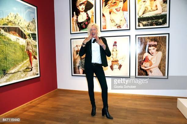 Photographer Ellen von Unwerth during the 'Ellen von Unwerth HEIMAT' Exhibition Opening at Immagis Fine Art Photography gallery on September 14 2017...