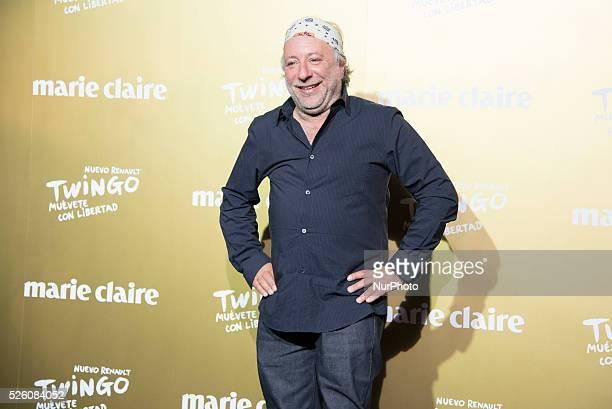 Photographer Enrique Badulescu attends the Marie Claire Prix de la Moda 2015 at the Callao cinema on November 19 2015 in Madrid Spain