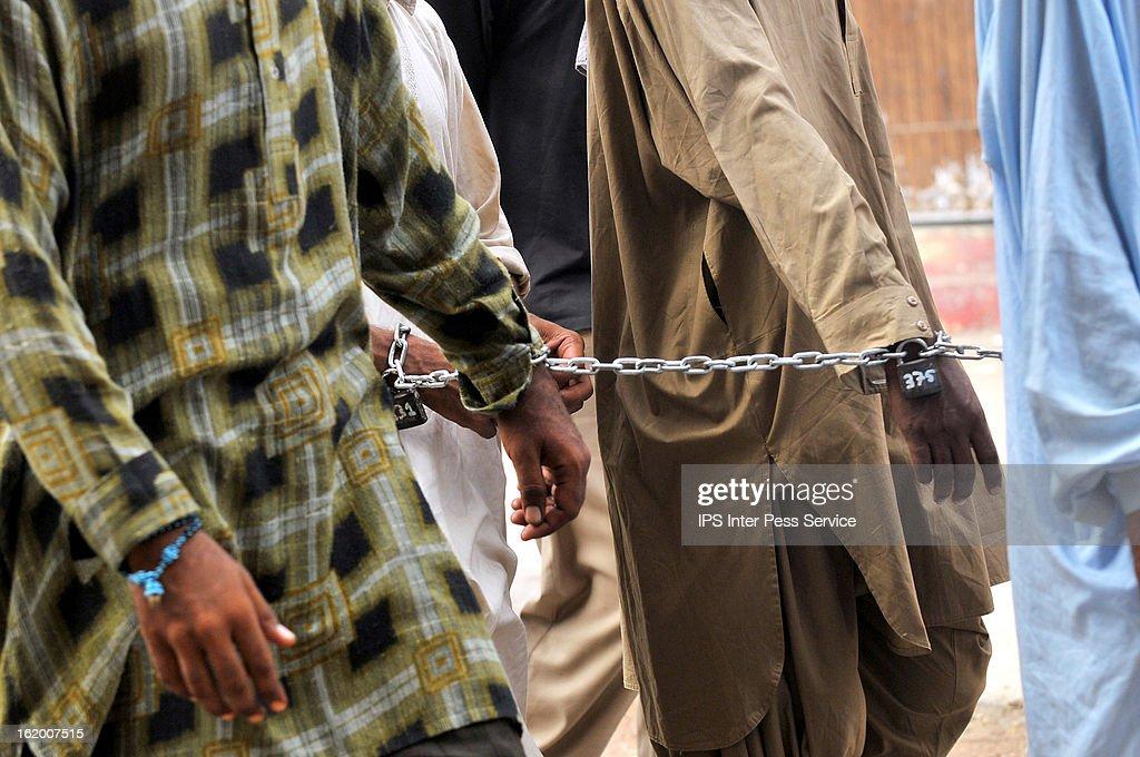 Pakistani Prisoners : News Photo
